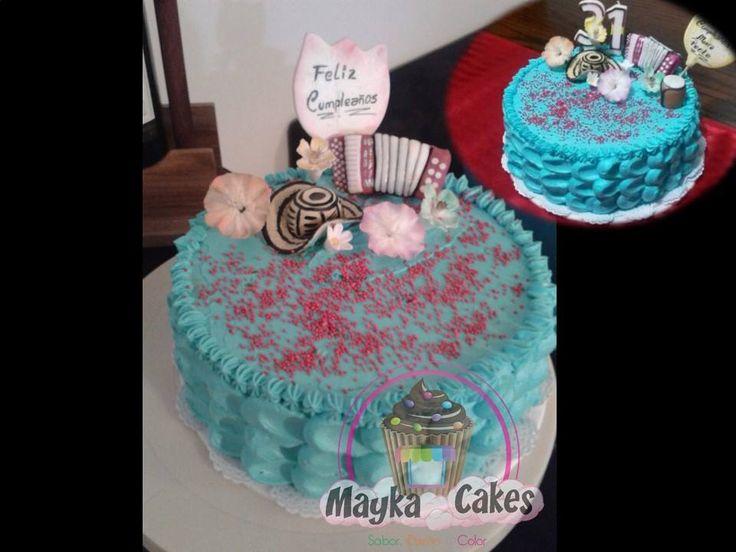 Cake Vallenato