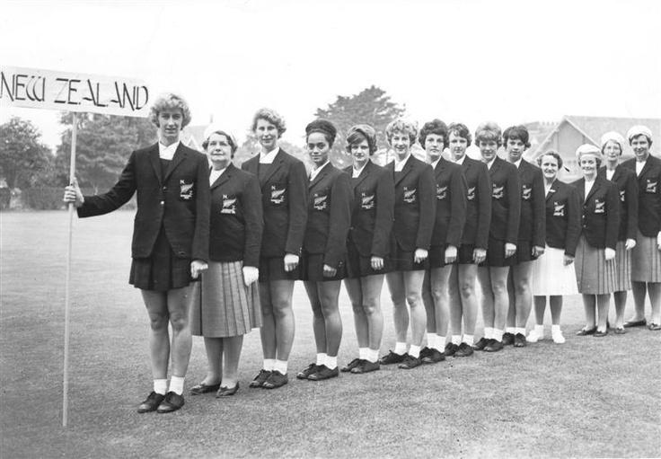 New Zealand at first world netball championships 1963