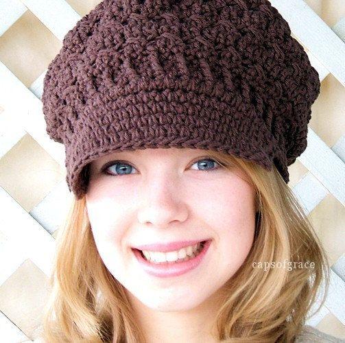 65b92da4546 cheapest crochet hat pattern womens newsboy hat slouchy hat slouch beanie  pdf 160 .
