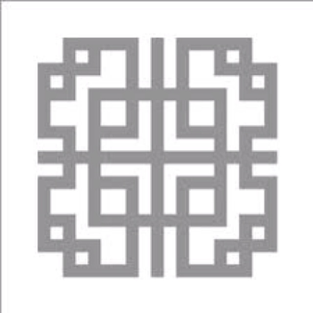 Korean stencil pattern