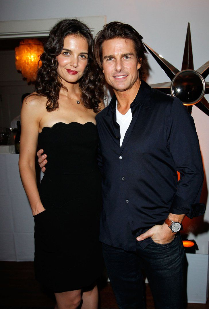 Pin for Later: These Hot Tom Cruise Pictures Will Convince You Age Is Just a Number  Tom Cruise posed with Katie Holmes for a W magazine party in January 2011.