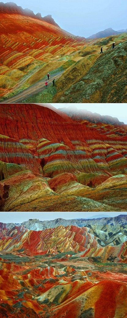 The Zhangye Danxia Landform is one of those mind blowing gems in China that has just made to my travel-lust-list.