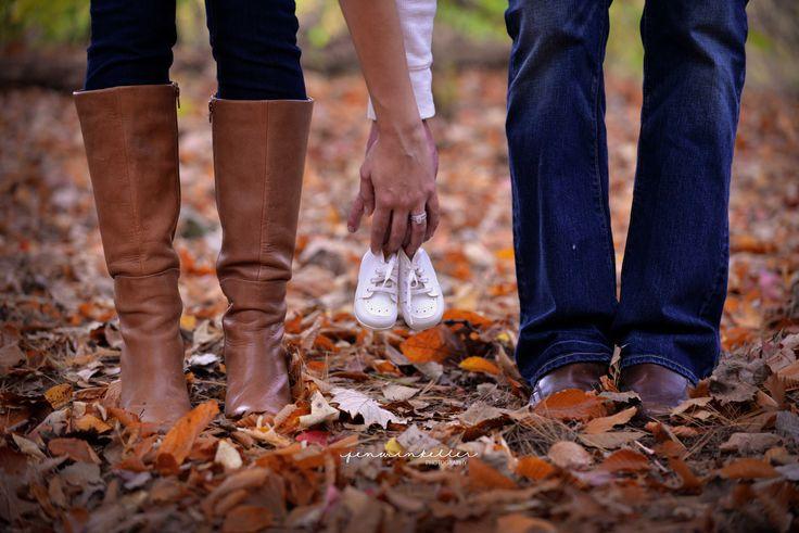 Fall Pregnancy Announcement » Jen Winkeller Photography