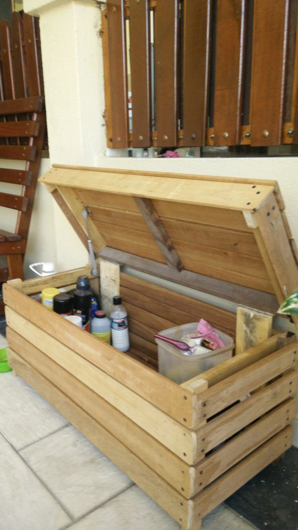 Reclaimed Wood Storage Chest Boxes & Chests