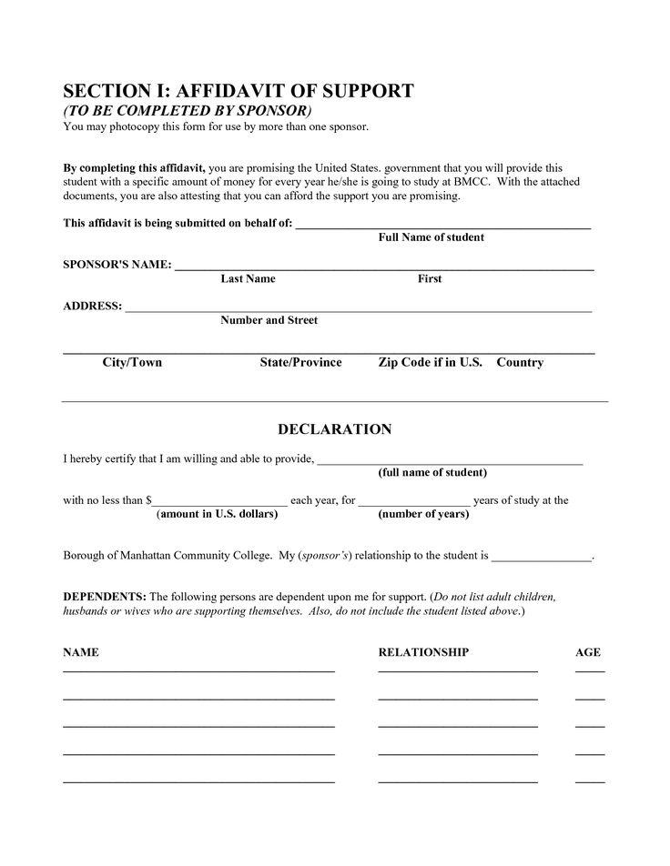 Affidavit Letter Format Affidavit Of Execution Usa Legal Templates