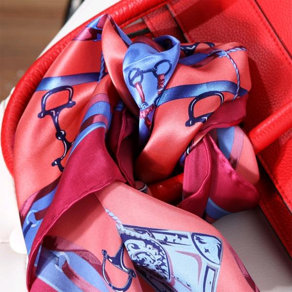 silk hair scarf