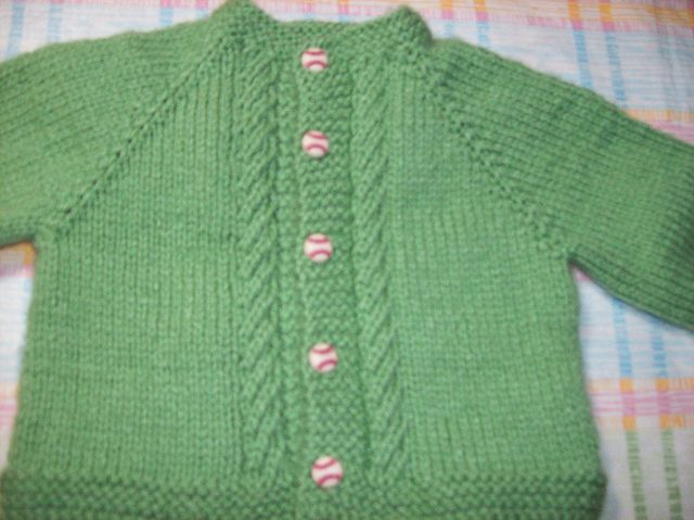 Free top down baby sweater pattern