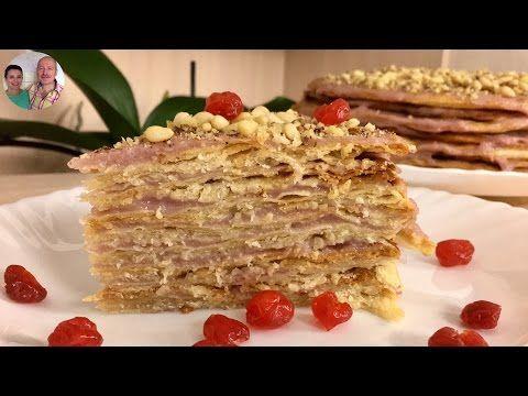 """Как Приготовить Постный Торт! Торт """"Наполеон""""! - YouTube"""