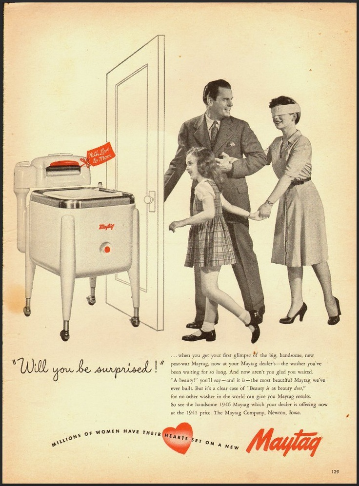Maytag Ad From Life