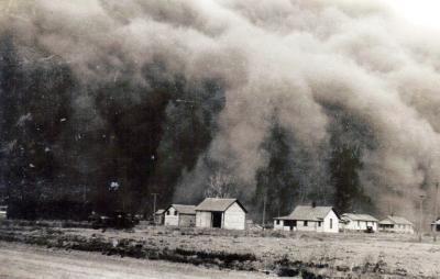 Dust bowl. The 8 Wonders of Kansas History - A Kansas Sampler Foundation Project