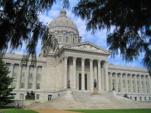Missouri State Capitol in Jefferson City