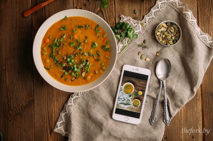 как правильно фотографировать еду в инстаграм