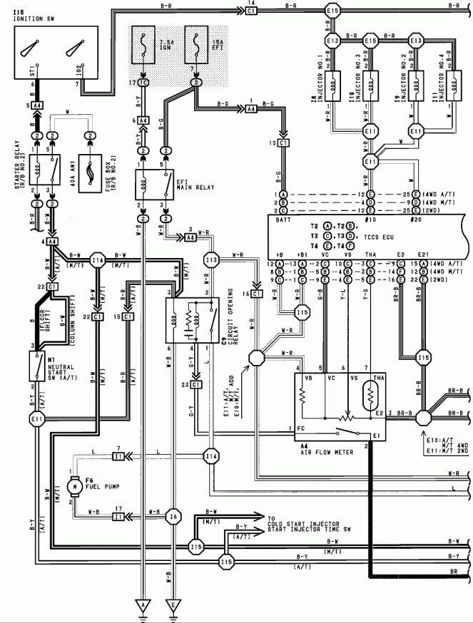 1992 4runner Auto Trans Wiring Diagram - Wiring Diagrams Bloglecoccinellegrignasco.it