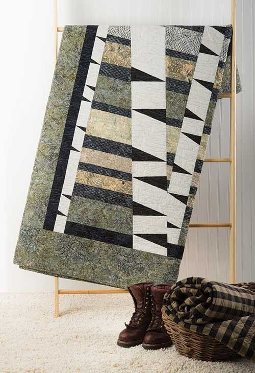 Winter Woods Quilt Kit: