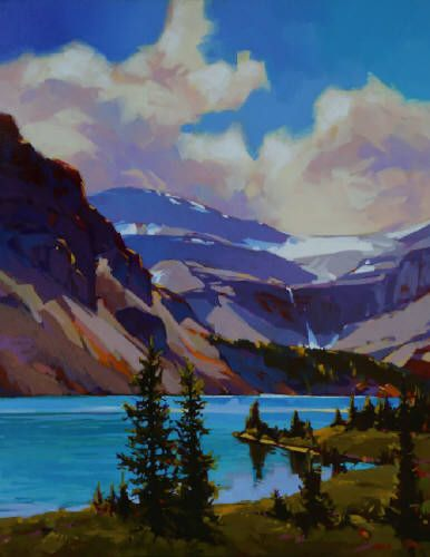 Mike Svob Artwork in Canada House Gallery