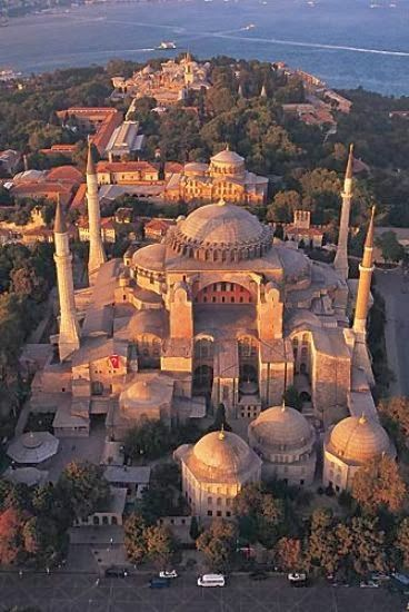 Hagia Sophia, Istanbul, Turkey - don't miss this magnificent structure if you get to Istanbul