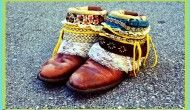 learn how to embellish your own groovy cowgirl booties