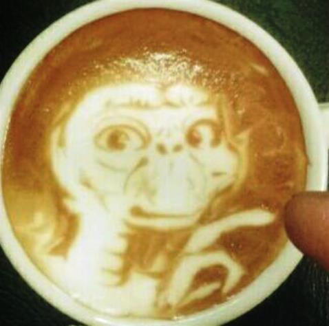 .·:*¨¨*:·. Coffee ♥ Art.·:*¨¨*:·. #ET #latte