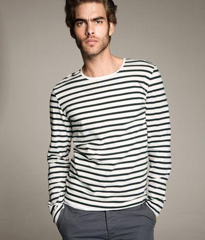 .: Boyfriends Style, Jon Kortajarena, Jonkortajarena, Planets Fashion, Men Style, Stripes Tops, Spring Summer, Chic Dress, Stripes Shirts