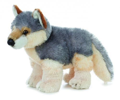 Bring Willy the wolf into your home today! Made from the softest plush material around, he will be your favorite toy to cuddle with. With lock washer safe eyes and an approved rating by the Consumer P