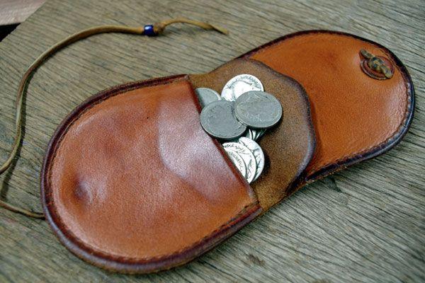 goro's (ゴローズ) サドルレザー コインケース・小銭入れ 個人所有品_コインもたっぷり収納できます。