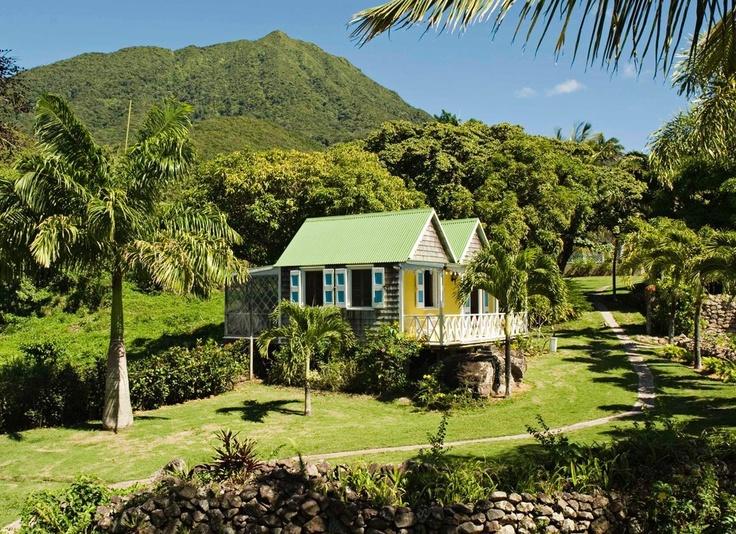 Nevis Island, Caribbean Sea
