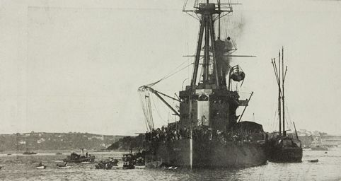 World War One – HMAS Parramatta and Australia's First Action Against the Germans