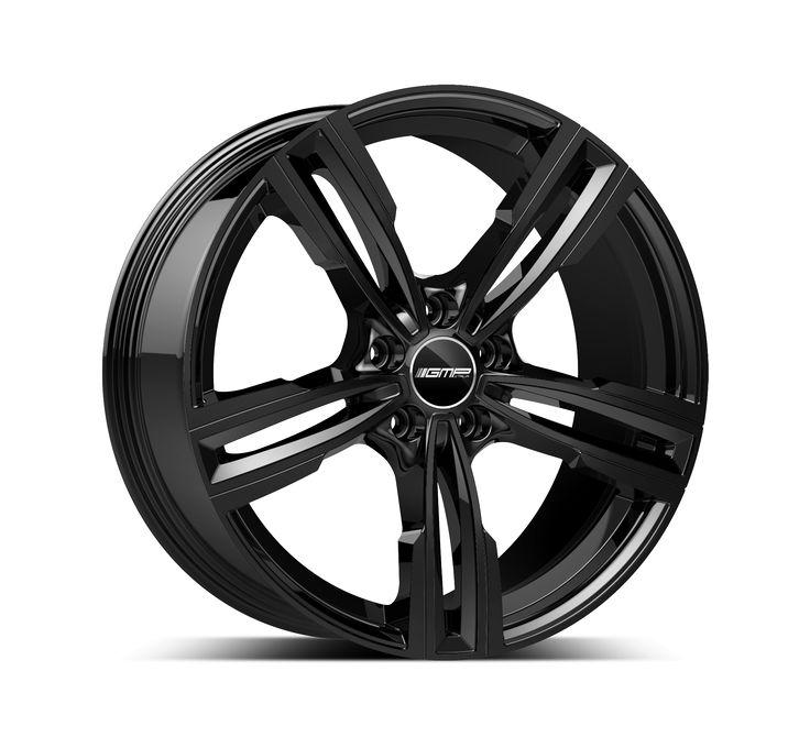 Reven Glossy Black Professional Alloy wheel / Cerchio in lega professionale Reven Nero lucido Side
