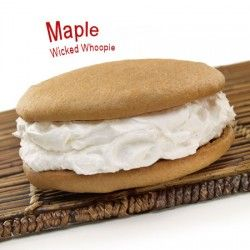Maple Wicked Whoopie from Wicked Whoopies.. Freeport Maine.. Holy Cow! UH YES PUUUUUULEASE!!! Check out their other yummy flavors!
