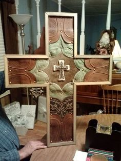 crosses made from cowboy boots, crafts, repurposing upcycling, woodworking projects