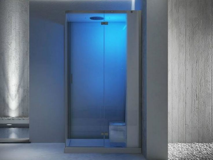 Diseno Baños De Vapor:Cabina de ducha de esquina multifunción con baño de vapor CLOUD 120