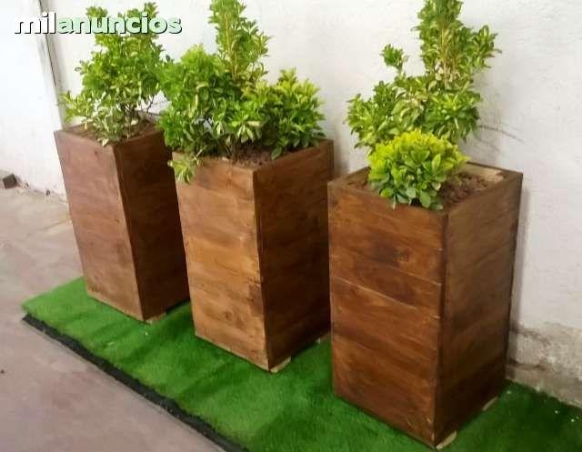 jardineras de palets - Buscar con Google