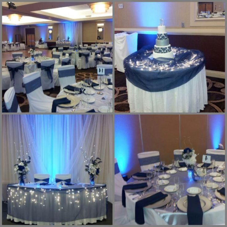 Your Wedding In Colors Navy Blue And Silver Arabia Weddings
