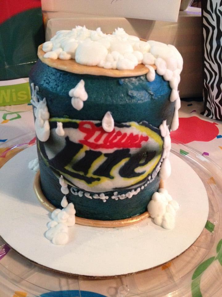 Miller Lite Cake! :)