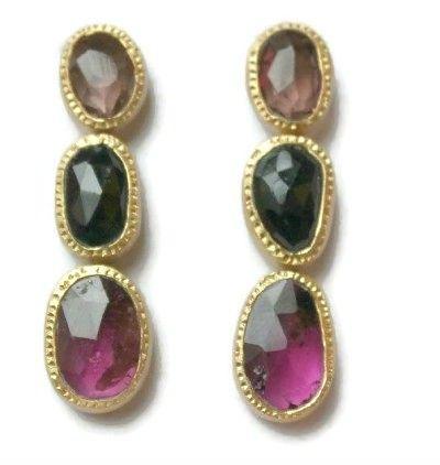 Piper Tourmaline Earrings