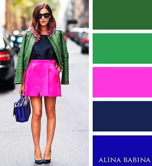 Популярные и яркие цветовые сочетания! 6