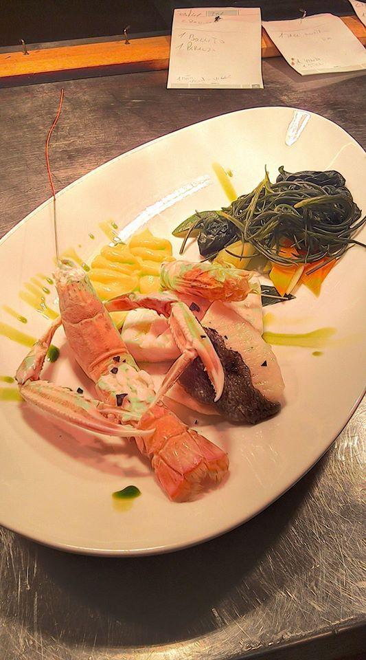 Gran bollito di pesce con verdure al vapore! #food,#chefGunther #RistoranteHotelemilia #Portonovo