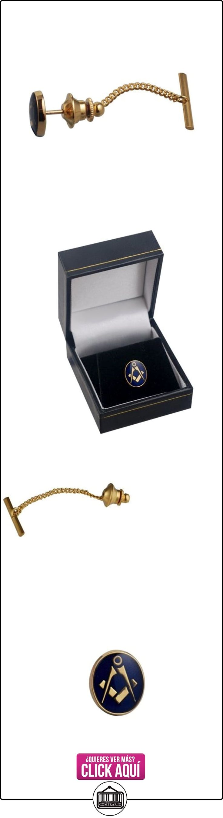 Duro, chapado en oro, 12 x 10 mm, ovalado esmaltada polimerización en frío maçonnique con alfileres de corbata  ✿ Joyas para niños - Regalos ✿ ▬► Ver oferta: http://comprar.io/goto/B00SJGY27O