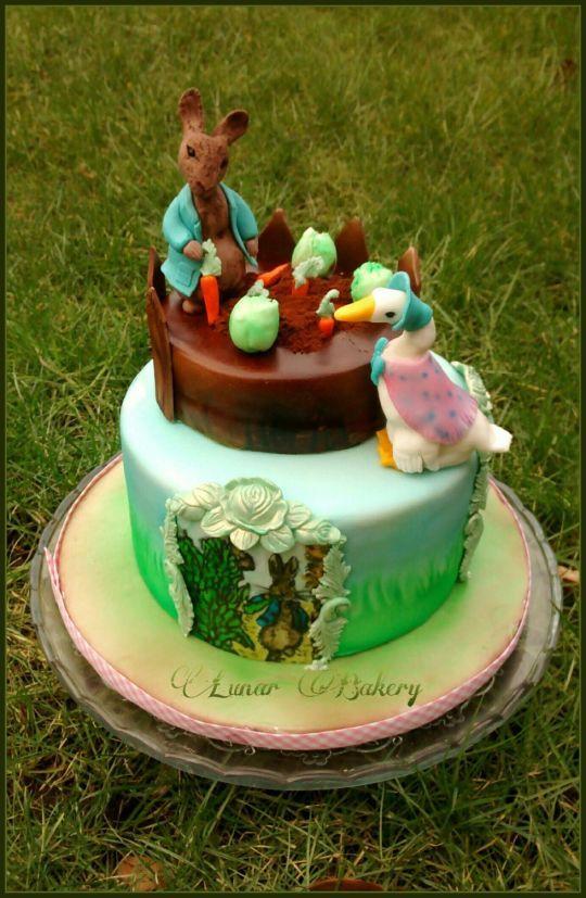 1000 Images About Beatrix Potter Cakes Big