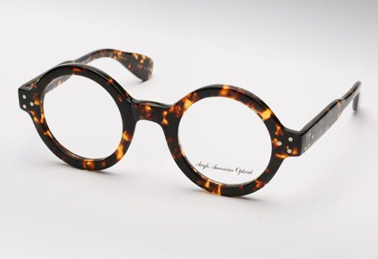 Thought we'd get into a little eccentric eyewear for Thursday lunchtime. Nothing says 'I'm a creative and interesting person with a wide selection of books and statement furniture' like a pair of big old glasses. These are from the excellent Anglo American Optical, a British eyewear company producing some incredible handmade spectacles. The tortoiseshell makes …