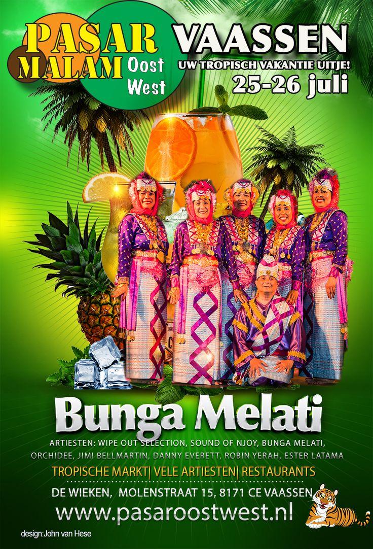 Pasar Oost West organiseert weer de gezellige Pasar Malam Vaassen op 25 en 26 juli.