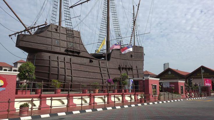 MALACCA CITY, MALACCA/MALAYSIA - FEBRUARY 03, 2015: Ship, Malacca ...
