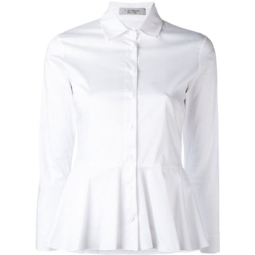 D.Exterior peplum shirt ❤ liked on Polyvore