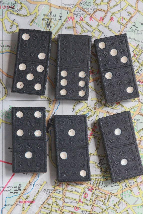 Domino Fridge Magnet Set