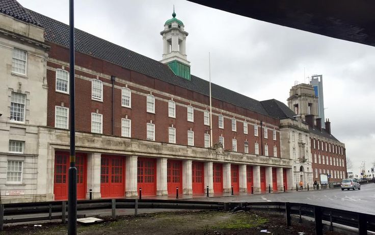 The Old Birmingham Fire Station Lancaster Place Birmingham UK. Now student accommodation