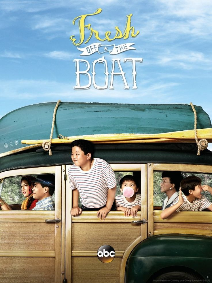 Lucille Soong, Randall Park, Constance Wu, Forrest Wheeler, Ian Chen, and Hudson Yang in Fresh Off the Boat (2015)