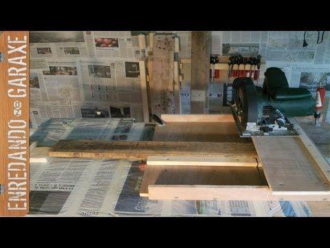 Trucos y proyectos para mejorar nuestro pequeño taller casero de carpintería. Estos vídeos de carpintería y bricolaje tienen su entrada correspondiente con m...