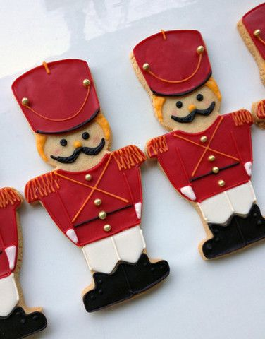 Casue — Christmas March Toy Soldier Cookies