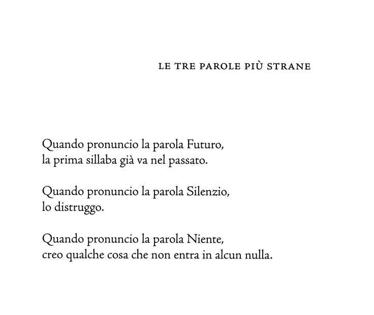 Wislawa Szymborska - Attimo (2009)