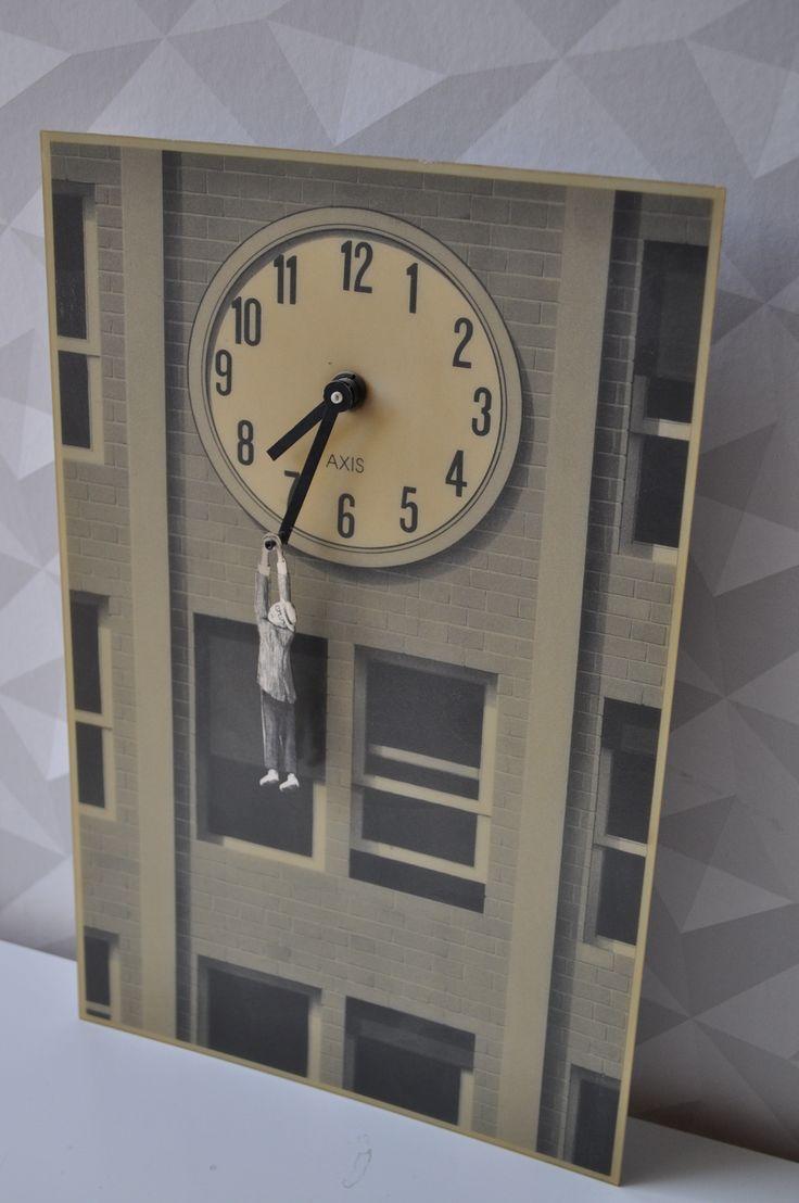 les 25 meilleures id es de la cat gorie horloges murales sur pinterest grandes horloges. Black Bedroom Furniture Sets. Home Design Ideas